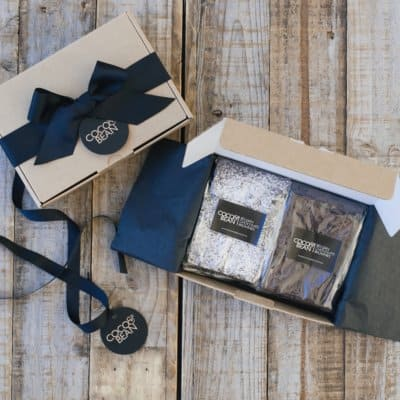 Belgian chocolate brownies gift boxes