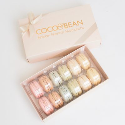 French Macarons 12 Pack Gift Box