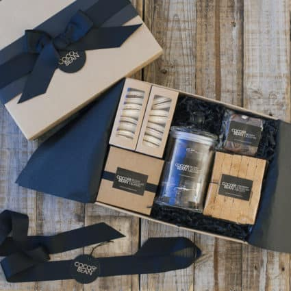 GIFT BOXES + HAMPERS