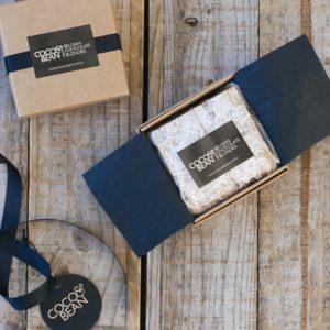 Belgian chocolate blondies 4 pack gift box