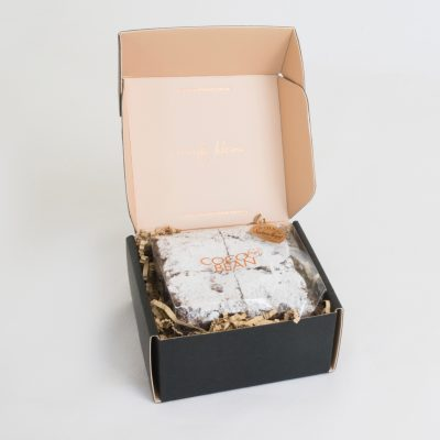 Chocolate Brownies 4 Pack Gift Box