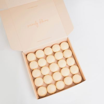 French Macarons 25 Pack Gift Box