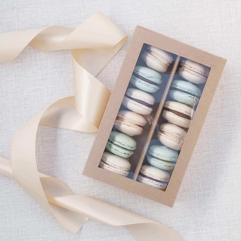 French Macaron Gift Box 12 Pack