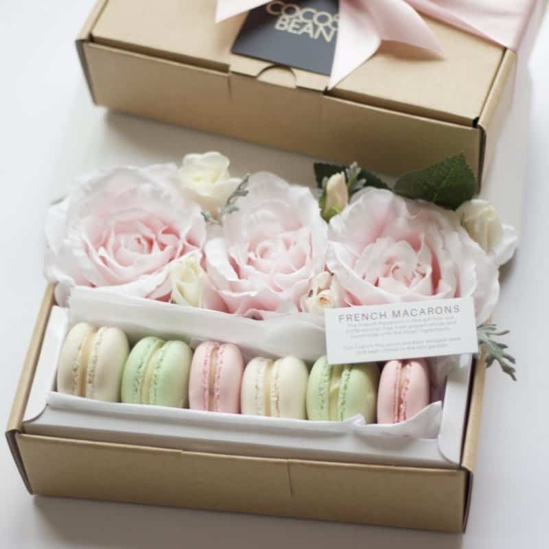 french macarons mothers day gift boxes flowers delivered handmade gifts for her