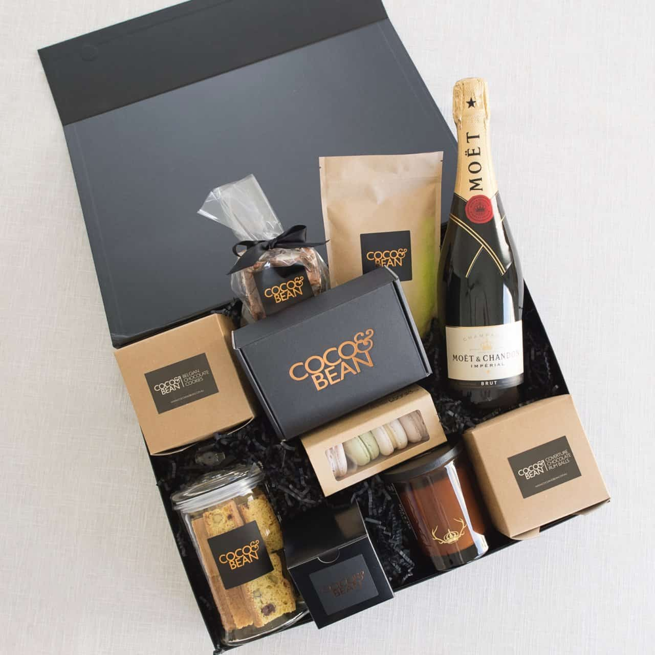 Moet and Sweet Treats Hamper