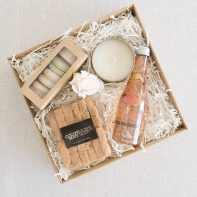 french macaron sparkling wine fabulous wine hamper