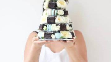 macarons-french macarons-macaron tower-events-chocolate-brownies-cake tower-sidney