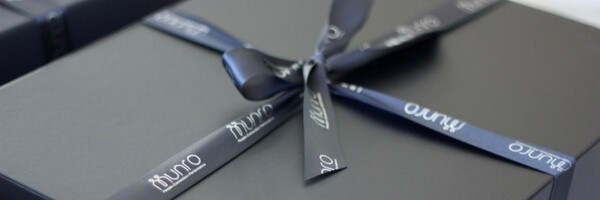 CORPORATE BRANDED RIBBON AND GIFT TAGS
