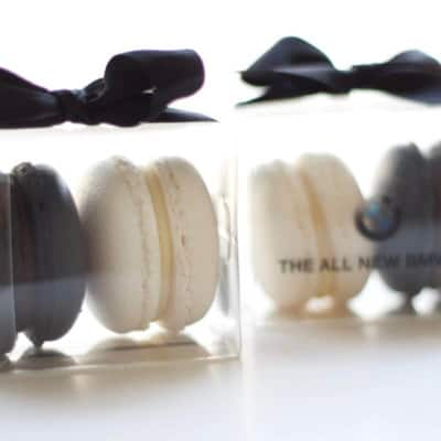 macaron gift boxes product launch gifts