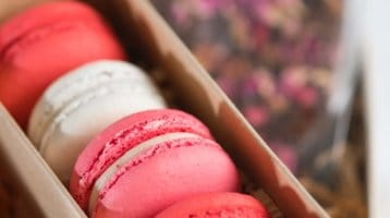 french macarons, valentines day gifts