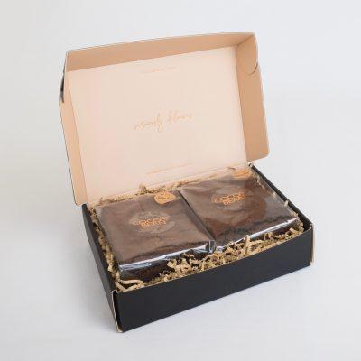 Gluten Free Chocolate Brownies 12 Pack Gift Box