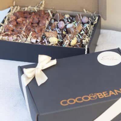 easter chocolate gift boxes loaded brownies