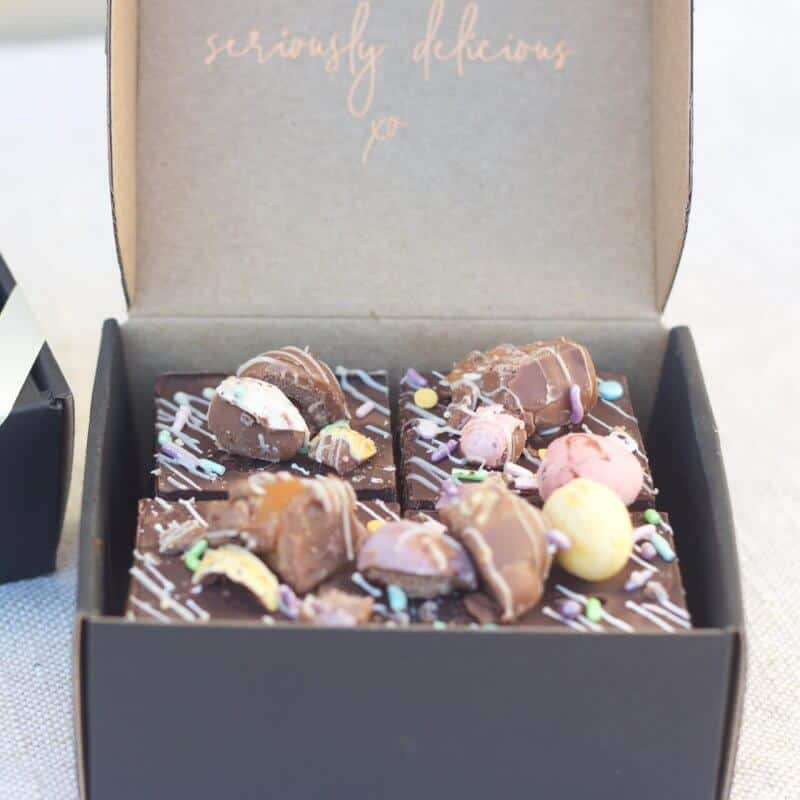 chocolate easter gift boxes delivered