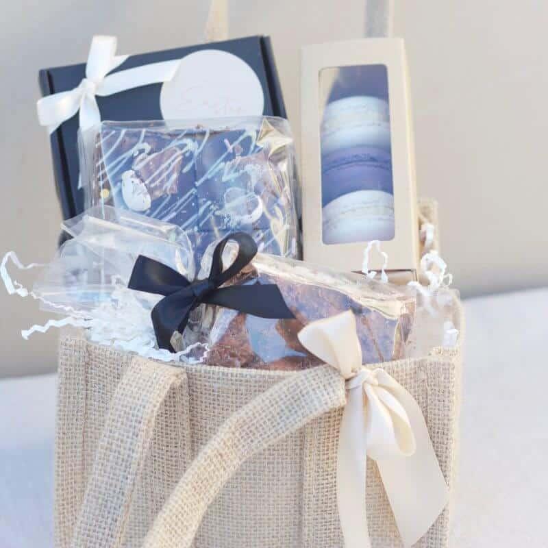 easter chocolate gift basket