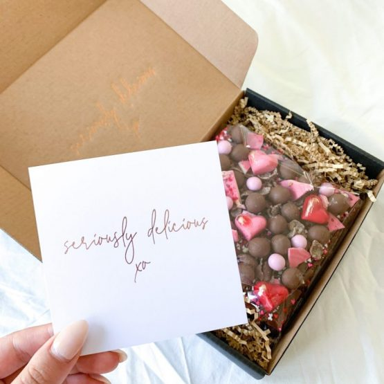 With Love Chocolate Brownie Gift Boxes Australia