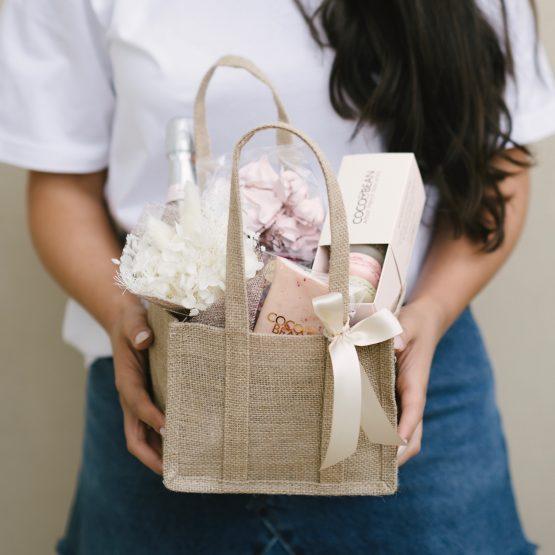 Sweet Blooms Gift Basket
