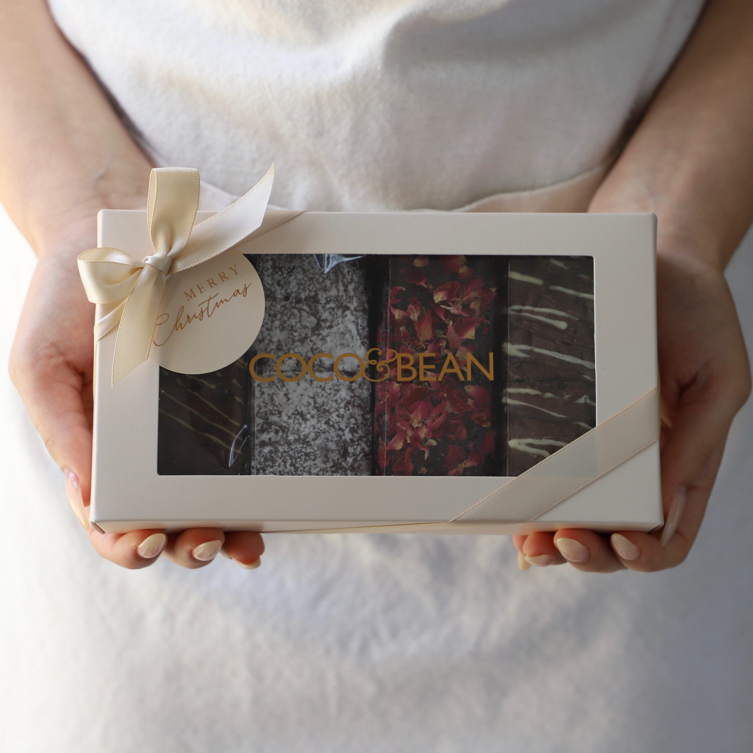 Christmas Brownies Gift Box Luxury Dessert Boxes Gifts Delivered