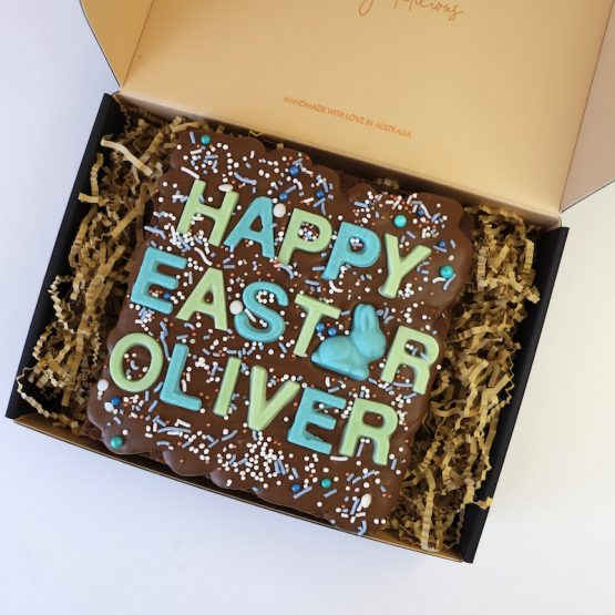 Personalised Easter Brownie Gifts For Him